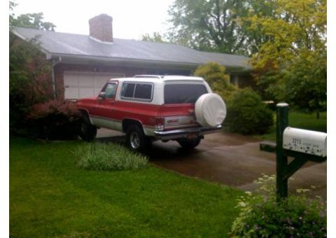 1986 GMC - Jimmy 4x4, ask for Jon - 602-677-0090