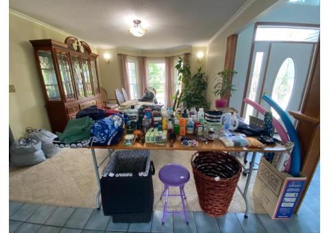 Moving Sale - 2102 Loomis Dr. Augusta, KS