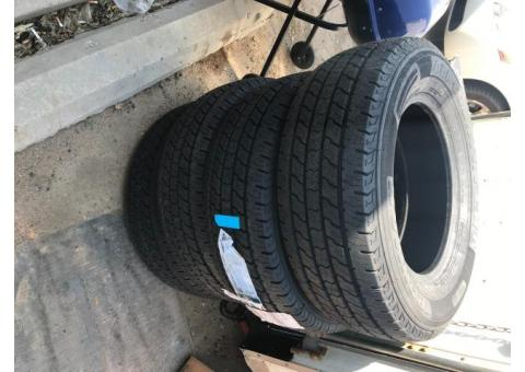 New set of tires